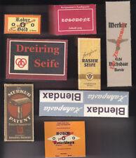 WW2 GERMAN PERSONAL HYGIENE BOXES SET (REPRO)