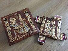 antique unusual vintage egypt box of matches rare
