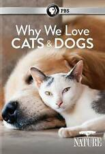 Why We Love Cats & Dogs (DVD) Nature Documentary BRAND NEW SEALED