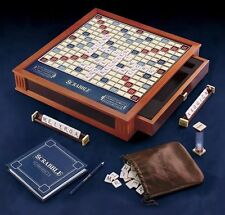 *NEW * Scrabble Luxury Collectors Edition Wood Classic Board Game