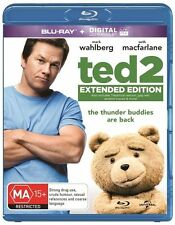 Ted 2 (Blu-ray, 2015) EXTENDED EDITION with MARK WAHLBERG