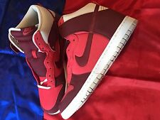 Nike Dunk High Hyper Red Grey Size 13