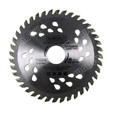SUNDELY 2 x 115mm Angle Grinder saw blade for wood and plastic 40 TCT Teeth