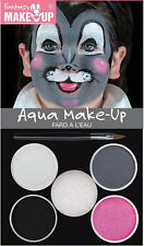 Water Based  Mouse Make Up Kit Animal Rodent Face Paint Set Halloween Fancy Dres