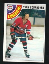 1977 - 1978 Topps Hockey Set YVAN COURNOYER Card