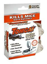 Tomcat, 2 Pack, Press 'N Set Mouse Trap, 0360710
