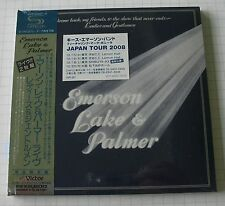 EMERSON LAKE & PALMER - Welcome Back JAPAN SHM MINI LP 2CD OBI NEU! VICP-64567-8