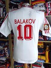 Signiert Trikot VFB Stuttgart 1996/97 (S)#10 Balakov Heimtrikot Adidas Jersey