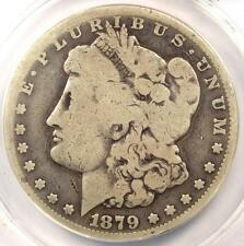 1879-CC Morgan Silver Dollar $1 - ANACS G4 Details (Good). Rare Carson City Coin