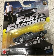 HOT WHEELS 1:55 FAST & FURIOUS 8 2017 DOM ICE DODGE CHARGER NEW