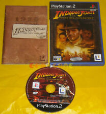 INDIANA JONES E LA TOMBA DELL'IMPERATORE Ps2 Versione Italiana 1ª Ed »» COMPLETO