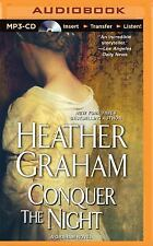 Graham Clan Ser.: Conquer the Night 2 by Heather Graham (2015, MP3 CD,...