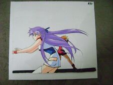 DIRTY PAIR FLASH OPENING OP ANIME PRODUCTION CEL AND DOUGA SKETCH