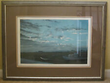 Norman Gautreau Sea Ducer Signed by Artist Limited Edition Lithograph