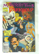 Vintage Darkhold Rise Of The Midnight Sons Part 4 of 6 Comic Book with Poster