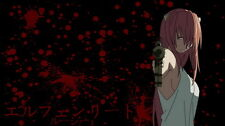 """023 Elfen Lied - Lucy New Human Girl Blood Anime 25""""x14"""" Poster"""