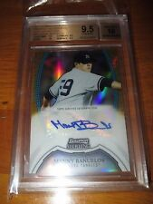 MANNY BANUELOS 2011 Bowman Sterling GOLD Refractor Autograph #26/50 BGS 9.5 AUTO