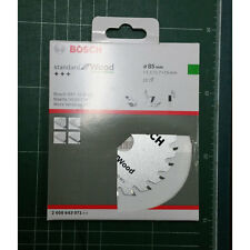 "Bosch Circular Saw Blade Wood 2608643071 for GKS 10,8 V-LI 85mm(3-1/2"")"