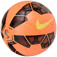 NIKE T90 Total 90 LEAGUE LFP  Soccer Ball  2014 NEW Orange /Black/Yellow Size 3