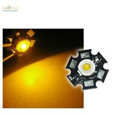5 x Hochleistungs LED Chip 1W GELB HIGHPOWER STAR LEDs yellow jaune Leuchtdioden