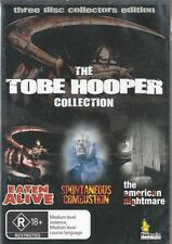 THE TOBE HOOPER COLLECTION - 3 DISC SET - EATEN ALIVE +2 MORE - NEW & SEALED DVD
