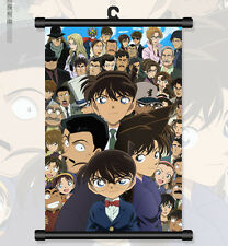 "8""*12"" Home Decor Japanese Anime Detective Conan Cosplay Wall Poster Scroll 06"