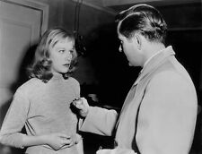 Hildegard Knef and Tyrone Power, Jr. UNSIGNED photo - H4539 - Diplomatic Courier