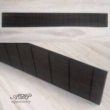 "TOUCHE GUITARE EBENE SLOTTED Ebony Fingerboard FENDER 25.5"" #648.5mm LUTHIER"