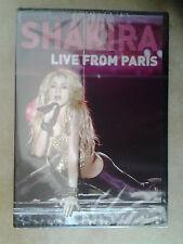 21436 // SHAKIRA LIVE FROM PARIS  DVD NEUF SOUS BLISTER