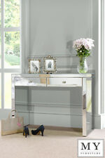 Venetian Mirrored Dressing Table / Console 2 Legs