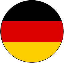 Germany/German Flag Car Tax Disc Holder - Fun Novelty REUSABLE Gift - Brand New