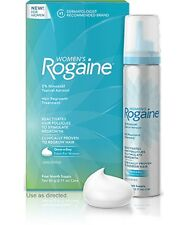 Women's Rogaine Hair Regrowth Treatment 4 Month Supply Foam Growth Promoter