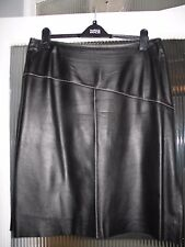 Per Una, Marks and Spencer Stunning 100% Leather Skirt size 18