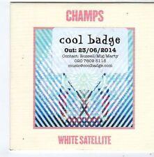 (FG403) Champs, White Satellite - 2014 DJ CD