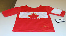 Team Canada 2014 Sochi Winter Olympics Hockey Jersey Infant 18 Months Red