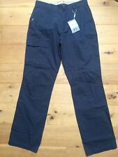 BNWT MUSTO Mens Navy 6 Pocket Fast Dry Trousers @ Size 32 Long NEW
