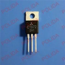 1PCS RF/VHF/UHF Transistor MITSUBISHI TO-220 2SC1972 C1972 100% Genuine and New