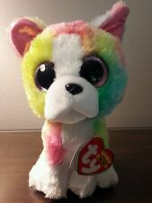 """MWMT 6"""" CLAIRE'S EXCLUSIVE RARE TY BEANIE BOO ISLA THE DOG- NEW SPRING 2017 -NWT"""