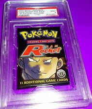 Pokemon Giovanni 1St Ed Team Rockets Foil  Pack  PSA 9