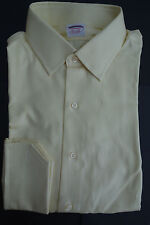 NWT Brooks Brothers Yellow Point Collar Shirt 16-30 Extra Slim