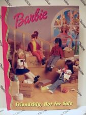 Barbie & Friends Book Club: Friendship, Not For Sale - New