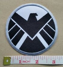 SHIELD Marvel Avengers Logo embroidered Iron on Patch Emblem Badge Fabric