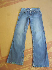 LADIES LOVELY BLUE COTTON DENIM JEANS BY HOT OPTIONS - SIZE 8 - CHEAP - BARGAIN