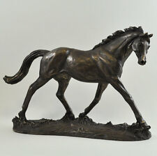 """Elegance"" Race Horse Cold Cast Bronze Sculpture / Figurine By Harriet Glen.New"