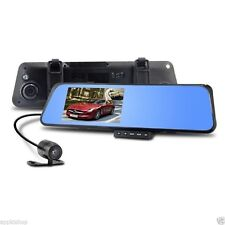 Rearview Mirror Camera Video Recorder Car DVR Dual lens Full HD 1080P Camcorder