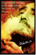Fidel Castro POSTER PHOTO ART CADEAU CITATION CUBA COMMUNISME