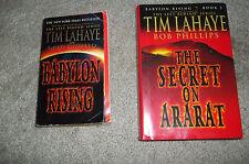 Babylon Rising books lot of 2 by Tim Lahaye