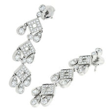 Tiffany & Co Platinum Diamant Damen Errings