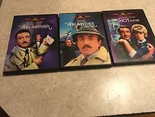 Pink Panther /A Shot in the Dark/ Pink Panther Strikes Again 3 DVD's