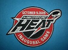 AHL Abbotsford Heat Inaugural Game  Hockey Jersey Shoulder Patch Crest